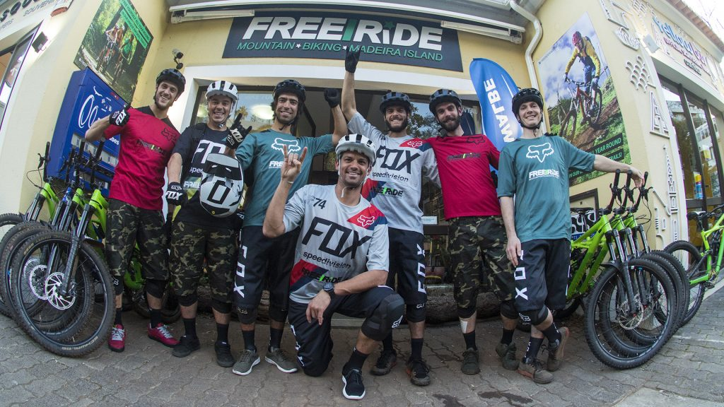 Freeride Madeira is now sponsored by Fox Head Europe